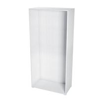 Struttura Spaceo bianco L 90 - 90 x P 60 x H 192 cm