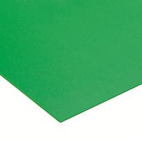 Lastra polipropilene verde 1000 x 500  mm, spessore 1 mm