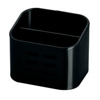Porta posate e mestoli nero L 10,5 x P 8,4 x H 8,5 cm