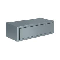 Mensola con cassetto Spaceo grigio, sp 1,8 cm