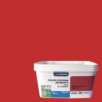 Idropittura lavabile Antimuffa Rosso Rosso 3 - 4 L Luxens