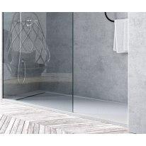 Piatto doccia resina River 110 x 70 cm bianco