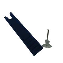 10 ganci da parete con chiodo Ø 10 mm