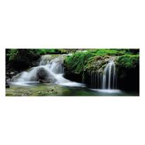 Quadro in vetro Waterfall 80x28