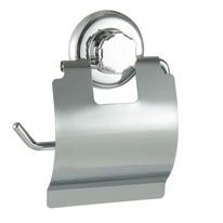 Porta rotolo aperto Bestlock cromato grigio