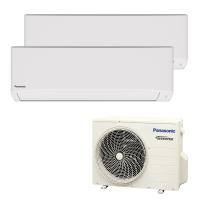 Climatizzatore fisso inverter dualsplit Panasonic TE-TKE 2.5 + 3.5 kW