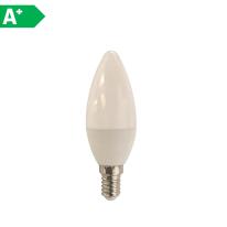 Lampadina LED Lexman E14 =40W oliva luce naturale 270°