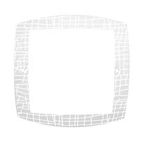 Plafoniera Ant L 40 x H 40 cm