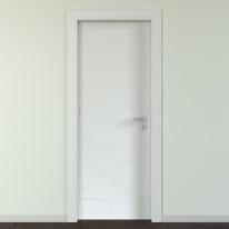 Porta da interno battente Wind silk 70 x H 210 cm sx