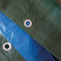 Telo protettivo occhiellato 5 x 4 m 140 g/m²