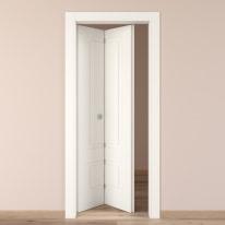 Porta da interno pieghevole Shibuya bianco 80 x H 210 cm sx