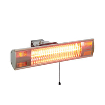 Stufa alogena Gold lamp 1500 W