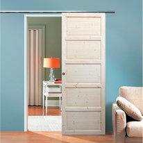 Porta da interno scorrevole Bizet grezza 96 x H 270 cm reversibile