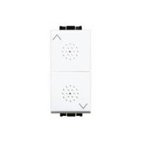 Pulsante 10A 1P BTicino Livinglight bianco