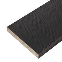 Pannello melaminico rovere scuro 25 x 600 x 2500 mm