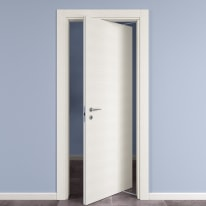 Porta da interno rototraslante Star Bianco Matrix 70 x H 210 cm dx