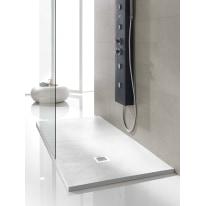 Piatto doccia poliuretano Soft 130 x 70 cm bianco