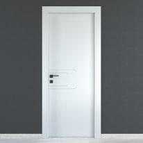 Porta da interno battente Seventy bianco 60 x H 210 cm dx