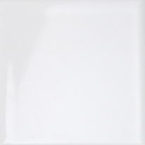 Piastrella Brillant 9,7 x 9,7 cm bianco
