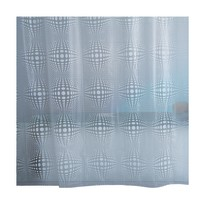 Tenda doccia Sphera bianca L 180 x H 200 cm
