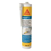 Sigillante siliconico Sikasil® C trasparente Sika 300 ml, per cemento, metallo
