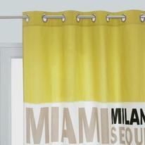 Tenda In the city giallo 140 x 270 cm
