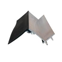 Scossalina con guarnizione in alluminio 400 x 5  cm, spessore 2 mm
