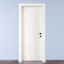 Porta da interno battente Keyboard white bianco 80 x H 210 cm sx