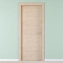 Porta per hotel battente Radisson oak rovere sbiancato 90 x H 210 cm sx