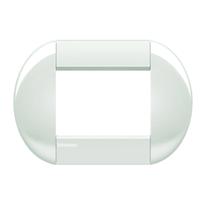 Placca 3 moduli BTicino Livinglight bianca