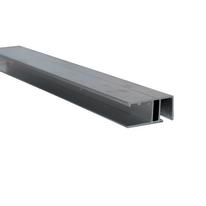 Profilo laterale di chiusura in alluminio 300 x 2  cm, spessore 2 mm