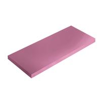 Mensola Spaceo rosa L 56 x P 15,5, sp 1,8 cm