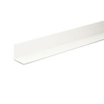 Profilo angolare a L in PVC bianco, L 10 x H 10 mm x P 1 m