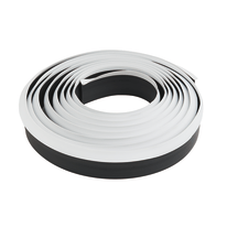 Alzatina Flex PVC bianco L 300 x H 0,95 cm