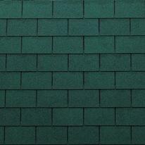 Tegole canadesi rettangolari Onduline Bardoline Pro verde in bitume 100 x 34  cm, spessore 3,4 mm