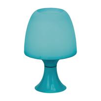 Lampada da comodino Managua blu LED integrato