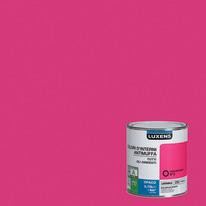 Idropittura lavabile Antimuffa Rosa Shocking 3 - 0,75 L Luxens
