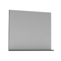 Specchio Opale grigio lucido 80 x 76 cm