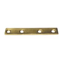 Lastrina dritta 80 x 15 mm, in acciaio zincato