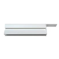 Attacco a parete Logo bianco P 2,5 x H 5,5 cm