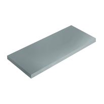Mensola Spaceo grigio L 56 x P 15,5, sp 1,8 cm