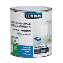 Idropittura antimuffa bianca Luxens 0,75 L