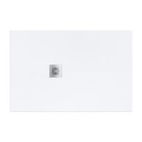 Piatto doccia resina Logic 90 x 70 cm bianco