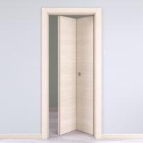 Porta da interno pieghevole Lucad Graf Matrix 70 x H 210 cm dx