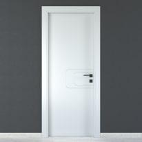 Porta da interno battente Seventy bianco 70 x H 210 cm sx