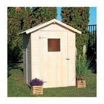 casetta in legno grezzo Tata 2,55 m², spessore 14 mm