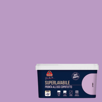 Idropittura superlavabile Antimuffa violet 2,5 L Boero
