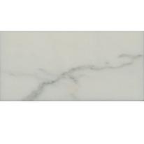 Piastrella con decoro Marmo bianco 7,5 x 15 cm