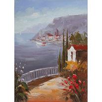 dipinto su tela Paesaggio1 60x90