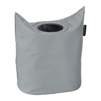 Portabiancheria Laundry Bag Oval grigio 50 L